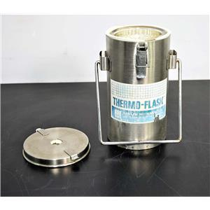 Lab-Line Instruments 2122 Thermo-Flask LN2 Wide Mouth 1 Liter with Warranty