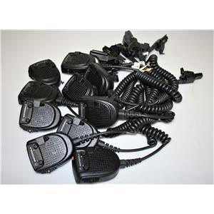 Lot 10 MOTOROLA RMN5038A RADIO MIC HT1000 JT1000 MTX9000 XTS 1500 2500 3500 5000