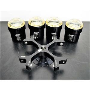 Beckman SX4250 Swing Bucket Rotor 392243 w/ Buckets & Lids for X-22 Series