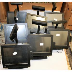 "7x HP 17"" RP7 Retail 7800 POS Celeron G540 2.5GHz 4GB 320GB w Customer DS LOOK !"