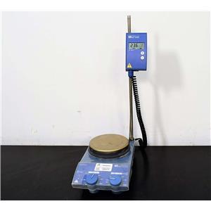 IKA Werke RET Basic S1 Hot Plate Magnetic Stirrer w/ ETS-D4 fuzzy Probe
