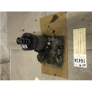 2008-2010 ford f350 6.4L powerstroke diesel oil cooler and housing at16474