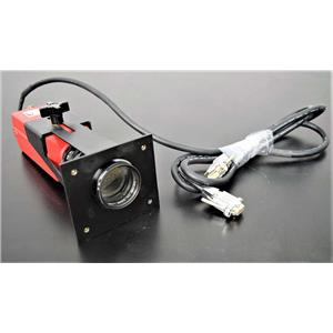 Used: Alpha Innotech 4912-2010/0000 Monochrome CCD Camera w/Zoom Lens- Heliopan Filter