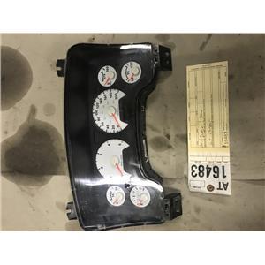 2007.5-2009 Dodge Cummins 6.7L cummins gauge cluster tag at16483 p05172095af