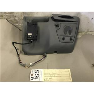 1999-2004 Ford F350 grey lower dash bezel and cup holder at16259