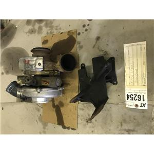2003 Ford F350 Powerstroke 6.0L turbo and pedestal tag at16254