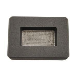 2 oz Silver Bar High Density Graphite Ingot Mold Loaf Style Rectangle Ag