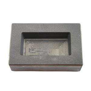 12 Troy oz Gold  Mold - 1 Troy Pound High Density Graphite Mold Bar Loaf