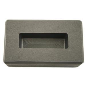 3 oz Gold KitKat Bar High Density Graphite Ingot Mold 1.5 oz Silver -Copper