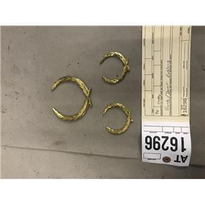 1993 1994 1995 1996 Cadillac Fleetwood Brougham gold door trunk wreaths 16296