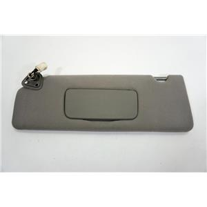 2004-2008 Toyota Solara Coupe Driver Left Side Sun Visor Covered Lighted Mirror