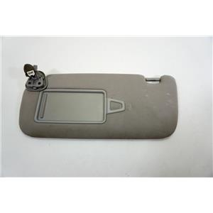 2009-2014 Hyundai Genesis Driver Left Side Sun Visor Lighted Mirror Adjust Bar