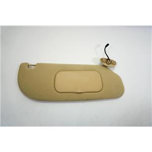 2006-2010 Ford Explorer Passenger Side Sun Visor with Lighted Mirror Adjust Bar
