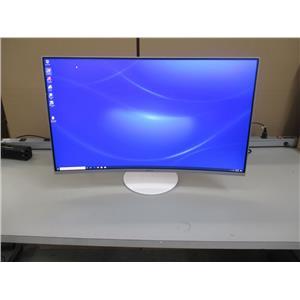 "Samsung LC32H711QENXZA C32H711 32"" WQHD (2560x1440) Curved QLED Monitor-FreeSync"