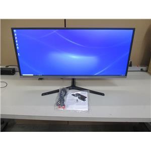 Samsung LS34J550WQNXZA 34-Inch QHD Ultra Wide Monitor, Black