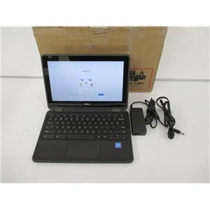 "DELL T8TJG 3189 Chromebook Celeron N3060 4GB 64GB SSD 11.6"" Touch Chrome OS"