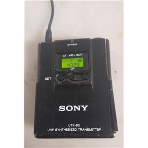 SONY UTX-B2 UHF TRANSMITTER