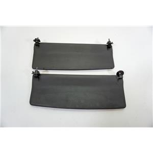2000-2005 Audi TT Convertible Roadsters Sun Visor Set with Covered Mirrors