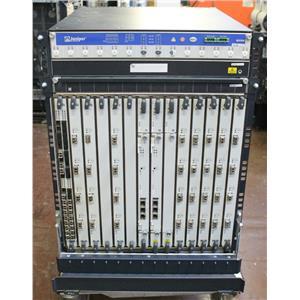 Juniper MX960 Router 2x RE-S-2000 / 1x DPCE-R-40GE / 8x DPCE-R-4XGE / 3x AC PSU