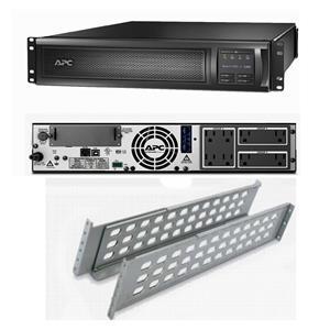 APC SMX1500RM2U Smart-UPS Power Backup LCD 1500VA 1000W 120V Rack mountable REF