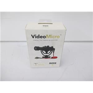 RODE HLY12ZM/A Microphones VideoMicro Mobile Kit - FACTORY SEALED