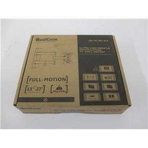 "QualGear QG-TM-007-BLK Universal Low-Profile Tilting Wall Mount f/13""-27"" LED TV"