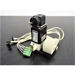 Used: Burkert 0124 Solenoid Control Valve for QIAGEN  BioRobot 8000 Workstation