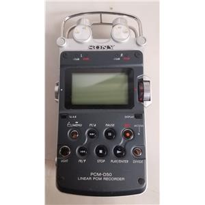 SONY PCM-D50 PROFESSIONAL PORTABLE 24-BIT DIGITAL LINEAR AUDIO RECORDER