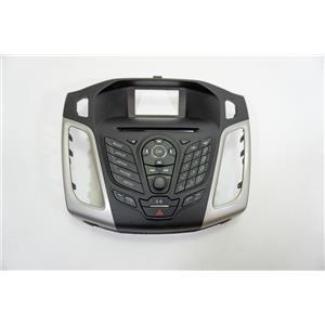 2012-14 Ford Focus Radio Center Dash Trim Bezel Hazard Sirius and Phone Control