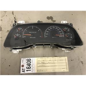 1998.5-2002 Dodge Cummins 2500 3500 5.9L CUMMINS Instrument cluster tag at16406