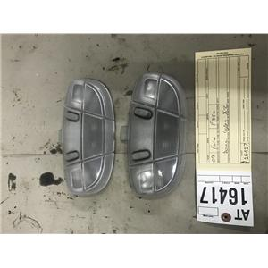 2008-2010 Ford F350 Lariat dome lights pair at16417
