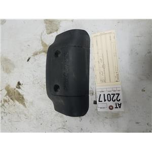 1999-2003 Ford F350 7.3L powerstroke front plastic engine cover tag at22017