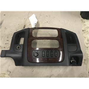 2003-2005 Dodge 2500,3500 5.9L cummins Laramie dash bezel tag as43387