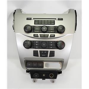 08-11 Ford Focus Center Dash Radio Climate Bezel Manual Climate Control AUX 12V