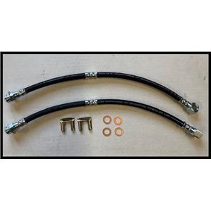 Chevy Camaro Nova Pontiac Brake hose Set 2 hoses  1969-72  Made in USA