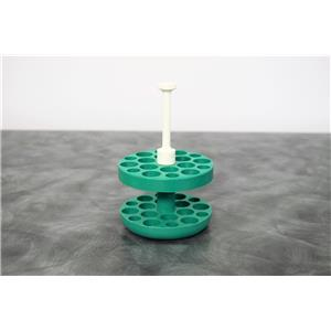Used: Beckman 359485 12x15mL Green Areosolve Tube Adapters for GH-3.8 Rotor