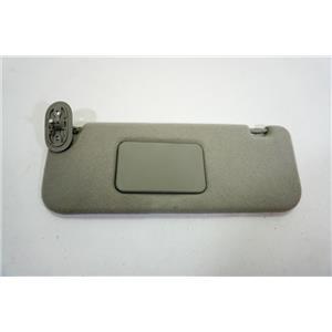2003-2008 Toyota Corolla Matrix Vibe Driver Left Side Sun Visor Covered Mirror