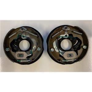 "Electric Trailer Brake assembly set Dexter compatible 10"" x 2.25"" Left and Right"