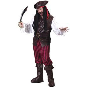 High Seas Buccaneer Pirate Custome STD