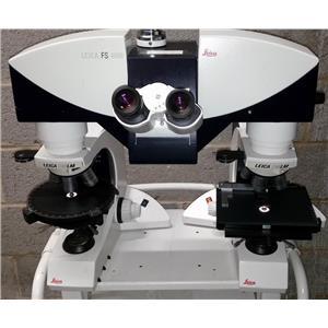Leica FS4000 comparison microscope