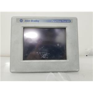 Allen Bradley 2711P-T6C20D Ser D Panel View Plus 600