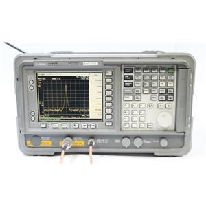 HP Agilent ESA E4404B 9kHz - 6.7GHz Spectrum Analyzer Options A4H BAA B72 AYX