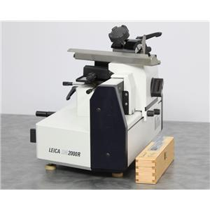 Leica SM2000 R Sliding Benchtop Microtome w/ Permanent CRYO-C 180mm Blade Knife