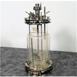 Bioreactor 2 L Jaceted Vessel for New Brunswick Scientific Celligen w/ Warranty