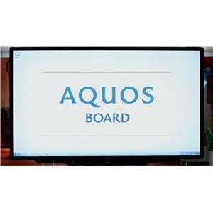 "Sharp PN-L803CA Aquos Board - 80"" LED display"