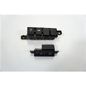 13-19 Nissan Altima Display Dimmer Trip Switch Traction Trunk Switch Brackets