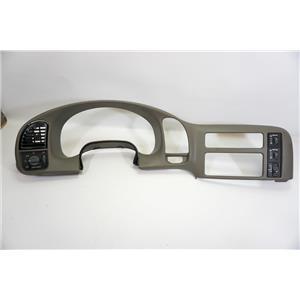 00-05 Chevrolet Astro Safari Surround Dash Trim Bezel Light Switch Rear Wiper