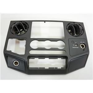 2008-2010 Ford F250 F350 Radio Climate Dash Center Bezel Vents Lock Switch 12V