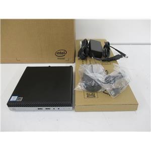 HP 4ZX63US#ABA ProDesk 400 G4 Desktop Mini Core i3-8100T 8GB 256GB W10P w/WARR