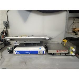 GE Wave Mixer 20/50 EHT Bioreactor System w/ Pump20-R & Ohaus PERF2EH